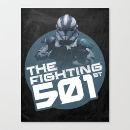 The Fighting 501st Canvas Print