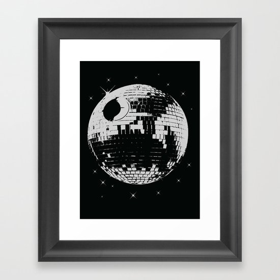 thats not a disco Framed Art Print