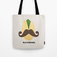 Hello I'm Mustachio Tote Bag