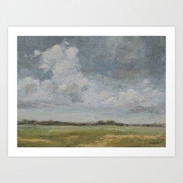 open sky 2 Art Print