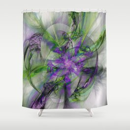Painted with Love Shower Curtain