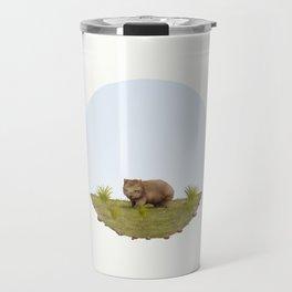 Common Wombat (Vombatus ursinus) Travel Mug