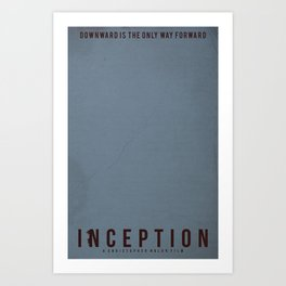 Minimalist Inception Art Print