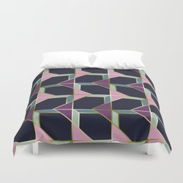 Ultra Deco 4 #society6 #ultraviolet #artdeco Duvet Cover