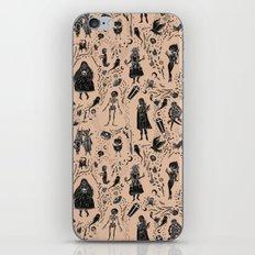 Creatures of the Night (orange) iPhone & iPod Skin