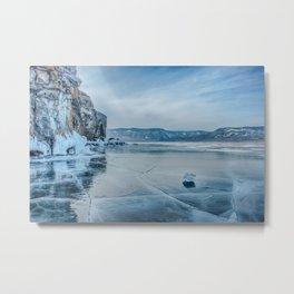 Lake Baikal. March Metal Print
