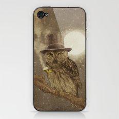 Night Smoke iPhone & iPod Skin