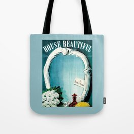 House Beautiful May 1940 Tote Bag