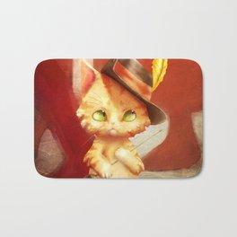 Kitten in Boots Bath Mat