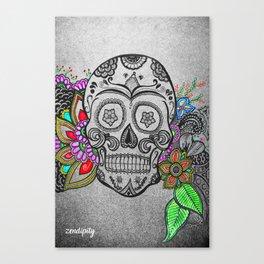C-Skull Canvas Print