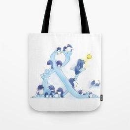 little blue penguin Tote Bag