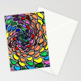 The Jelly Bean Explosion Stationery Cards