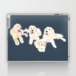 Kylie, tate, connor, and callie Laptop & iPad Skin