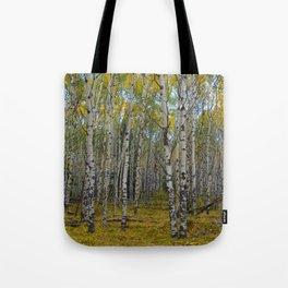 Trembling Aspen's in the Fall, Jasper National Park Tote Bag