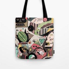 Watermelon Squirrel Tote Bag