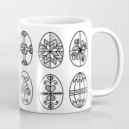 HIIMES - decorated eggs - folk art Coffee Mug