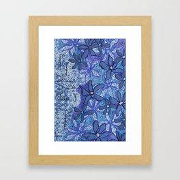 Inspiration Flowers Framed Art Print