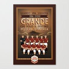 Poster Nostalgica - Grande Torino Canvas Print