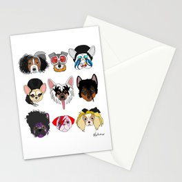 Pop Dogs Stationery Cards