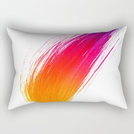 Paint Smear Rectangular Pillow