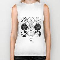 circles Biker Tanks featuring Circles by LSjoberg