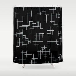 Bird Boy Pattern Shower Curtain