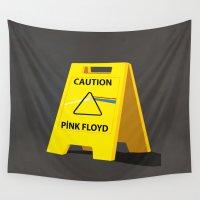 floyd Wall Tapestries featuring Pink Floyd by gunberk