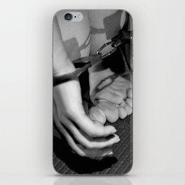 Handcuffed iPhone Skin