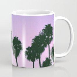 Palm Tree Purple Sunset Coffee Mug