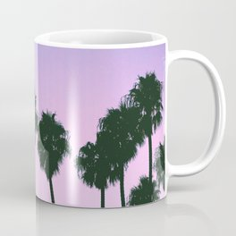 Palm Tree Purple Sunset Coffee Mug