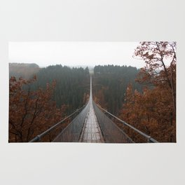 Hängeseilbrücke in Geierlay Rug