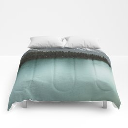 Landscape Photography Maligne Lake Comforters