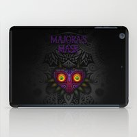 majoras mask iPad Cases featuring Majora's Mask by Art & Be