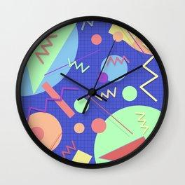 Memphis #42 Wall Clock