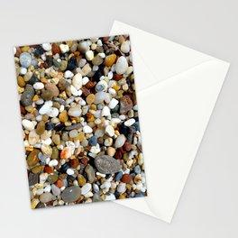 Stones at Potami Beach on Samos Island (Greece) - Design 1 Stationery Cards