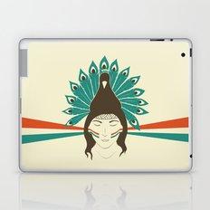 The princess and the peacock Laptop & iPad Skin