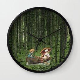 THE STROLL Wall Clock