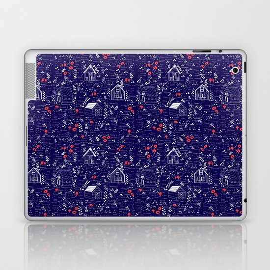 Stuga Pattern  Laptop & iPad Skin