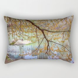 Spring in Central Park Rectangular Pillow