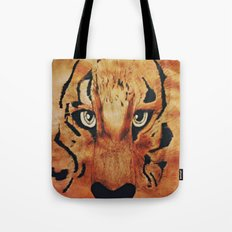 Tiger Watercolor Tote Bag