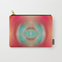 Life Source - Energy Abstract Art By Sharon Cummings Carry-All Pouch