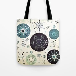 Snowflakes Part Deux Tote Bag