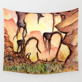 Horizon Zero Dawn Landscape Wall Tapestry