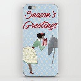 Emma Belle Gift Giver iPhone Skin