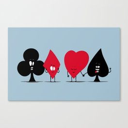 Pair of Aces Canvas Print