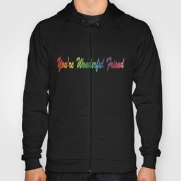 Stripes In Colours 2 Hoody