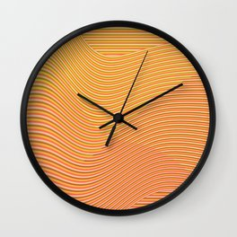 Play with stripes  5 Wall Clock