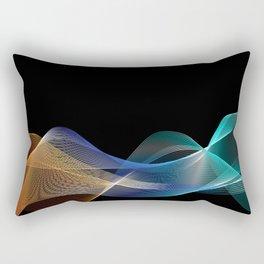 Colored lines Rectangular Pillow