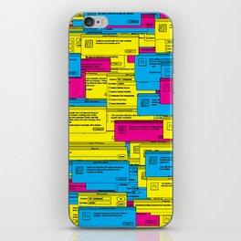 Designer Dialogues PS4 iPhone Skin