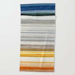 Colorbands Yellowstone Beach Towel